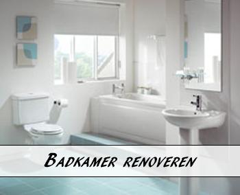 Badkamer renovatie | Prijzen vergelijken