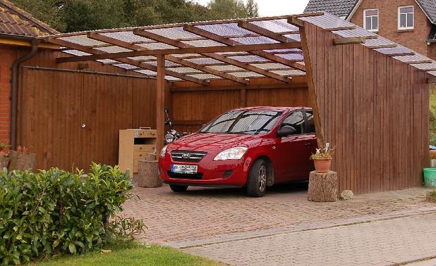 carport hout